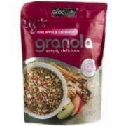 Musli granola lizi`s cu mar roz si scortisoara 400gr UNICORN NATURALS