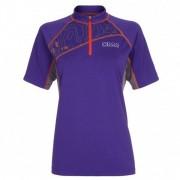 OMM - Women's Grid Tee S/S - T-shirt technique taille L, violet