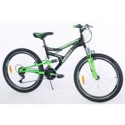Favorti Bicikl FOCUS 400 24/18 crna zelena (650044)