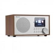 Auna Silver Star Mini radio Internet DAB+/FM WiFi Bluetooth - bois marron