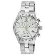 Timex Quartz White Dial Women Watch-T2P059