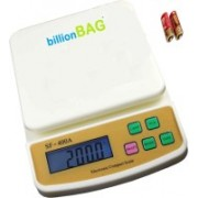 Billionbag Multi Powered Advanced SF 400A 5 Kg With Battery Digital Household Use And Backlight Weighing Scale(White)