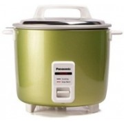 Panasonic SR-WA18H (AT) with Extra PAN Electric Rice Cooker with Steaming Feature(1.8, Greeen)