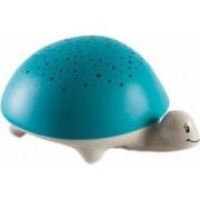 Lampa de veghe Pabobo si proiector broasca testoasa Verde Stelute