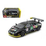 Lamborghini Murcielago Fia Gt #7 Black 1/24 By B Burago 28001