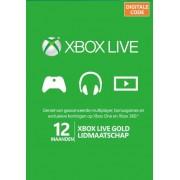Microsoft Xbox Live Gold abonnement 12 maanden Code / Key