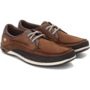 Clarks Orson Lace Dark Brown Lea Casual Shoes For Men(Brown)