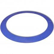 vidaXL biztonsági párna kerek trambulinhoz PE kék 10 láb/3,05 m