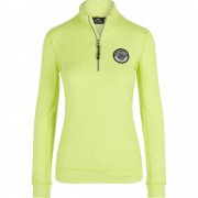 Hvpolo HV Polo Half zip top Edith - Light Green Melange - Size: Large