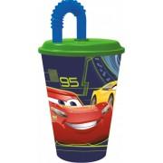 Disney Verdák szívószálas pohár