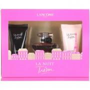 Lancôme La Nuit Trésor coffret IV. Eau de Parfum 30 ml + leite corporal 50 ml + gel de duche 50 ml