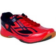 Proase Laminated Badminton Shoes For Men(Red)