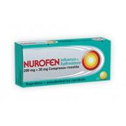 Reckitt Benckiser H.(It.) Spa Nurofen Influenza Raffr 200 Mg + 30 Mg Compresse Rivestite 12 Compresse Rivestite