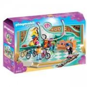 Комплект Плеймобил 9402 - Playmobil - Магазин за колела и скейборд, 2900448