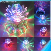 Bec rotativ multicolor tip floare de lotus