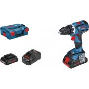 Akumulatorska bušilica-odvrtač Bosch GSR 18V-60 C; 2x4,0Ah ProCORE; L-Boxx (06019G1108)