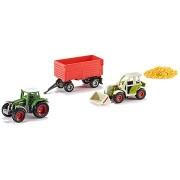 Siku Super - Mezőgazdasági gépek + gabona szett