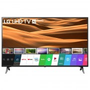 Televizor LED LG 43UM7100PLB, 108 cm, 4K UHD, Smart TV, Wi-Fi, Bluetooth, CI+, AI Smart, Procesor Quad Core, Clasa energetica, A, Negru