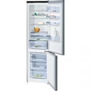 GARANTIE 2 ANI Combina frigorifica Bosch, Serie I 6, A+++, NoFrost, usi sticla culoare inox, Multi Airflow, AirFreshFilter - filtru de carbon activ, super-racire, super-congelare, Premium LCD TouchControl KGN39LM35