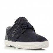 Ralph Lauren Polo Ralph Lauren Faxon Low Perforated Nylon Slim Trainers
