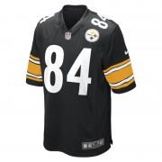 Nike Maglia da football americano NFL Pittsburgh Steelers (Antonio Brown) Home Game - Uomo - Nero