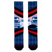 XPOOOS boje muške čarape Chrome