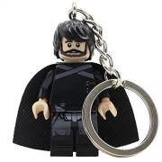Generic Game of Thrones Jon Snow Daenerys Tyrion Lannister Figure Keychain Keys Stark Khal Drogo Ring Chain Building Blocks Toys Jon Snow
