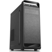 Sistem PC Desktop Gaming cu Procesor Intel Quad-Core i5 750, 8GB DDR3, unitate stocare SSD de 256GB, Placa video dedicata Ati AMD Radeon RX 550 4GB