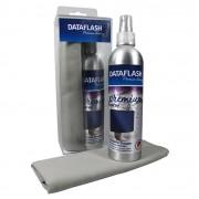 Set Premium curatare monitoare spray 250ml + laveta microfibra, Data Flash