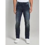 TOM TAILOR Jeans Josh regular slim, Heren, dark stone wash denim, 30/34
