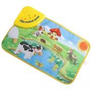 IJARP Magicdeal Kids Baby Toddlers Simulation Farm Animal Music Carpet Music Touch Play Singing Gym Carpet Mat Toy Gift