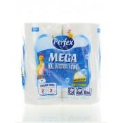 Perfex Prosop de bucatarie 2 straturi 2 role Mega XXL