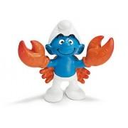 "The Smurfs Cancer Smurf ~2.1"" Mini-Figure: Schleich Mini Figure Zodiac Series [207233]"