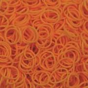 Elastice Rainbow Loom - Neon Portocaliu - 600 buc.
