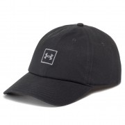 Șapcă UNDER ARMOUR - Washed Cotton Cap 1327158-001 Negru