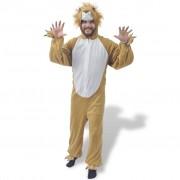 vidaXL Costum de carnaval leu, mărimea XL-XXL