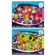 Hasbro Hsbb6451 Play Mr. Potato Head Mr & Mrs Mashup Theme, Pack Of 4