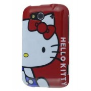 HTC Wildfire S Hello Kitty Back Case - HTC Hard Case (Red/White)