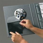 CD tartó zseb, öntapadó, 127x127 mm, 3L (3L10246)