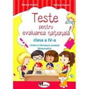 Teste pentru evaluare nationala - caiet pentru clasa a IV-a - Comunicare in limba romana/Simona Grujdin,Adriana Borcan