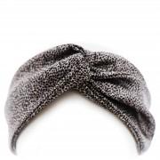 Slip Silk Twist Headband - Leopard