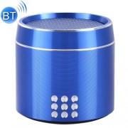 Portable True Wireless Stereo Mini Bluetooth Speaker with LED Indicator & Sling for iPhone Samsung HTC Sony and other Smartphones (Blue)