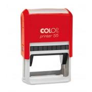 Stampila rectangulara Colop Printer 55 - mecanism rosu