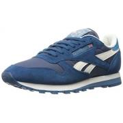 Reebok Men s Cl Leather Camp Fashion Sneaker Royal Slate/Noble Blue 10 D(M) US