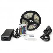 Kit complet banda RGB 300 SMD telecomanda 24 taste ManiaLight