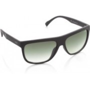 IDEE Rectangular Sunglasses(Green)