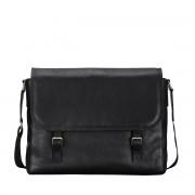 Schwarze Herren Aktentasche - Dokumententasche, Aktenkoffer, Businesstasche, Laptoptasche