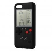 Husa Black cu Joc Tetris compatibila cu iPhone 7