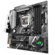 Дънна платка ASUS ROG STRIX Z370-G GAMING, Z370, LGA1151, DDR4, PCI-E(DP&HDMI)(CFX&SLI), 6x SATA 6Gb/s, 1x M.2 socket, 2 x USB 3.1 Gen 2, mATX, Aura Sync RGB подсветка