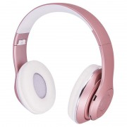 Forever Music Soul BHS-300 Bluetooth Headphones with Microphone - Pink